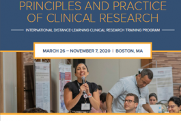 PROGRAMA PRINCIPLES AND PRACTICE OF CLINICAL RESEARCH